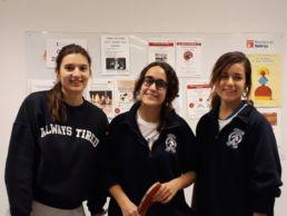El equipo de tenis de mesa del Colegio Mayor Mara campeonas 2017 2018 - Asociación de Actividades Conjuntas para Colegios Mayores de Madrid - Colegio Mayor en Madrid - CMU Mara - Acto celebrado en el Colgio Mayor Méndel