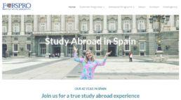 FORSPRO - Foreign Study Programs - FORSPRO en el CMU Mara en Madrid - Study abroad in Spain - Colegio Mayor Mara - Colegio Mayor en Madrid