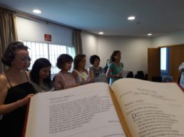 Presentación Alumni Mara - Primera reunión de Alumni Mara - Canonización de Nazaria - Colegio Mayor Mara - Colegio Mayor en Madrid - Eucaristía