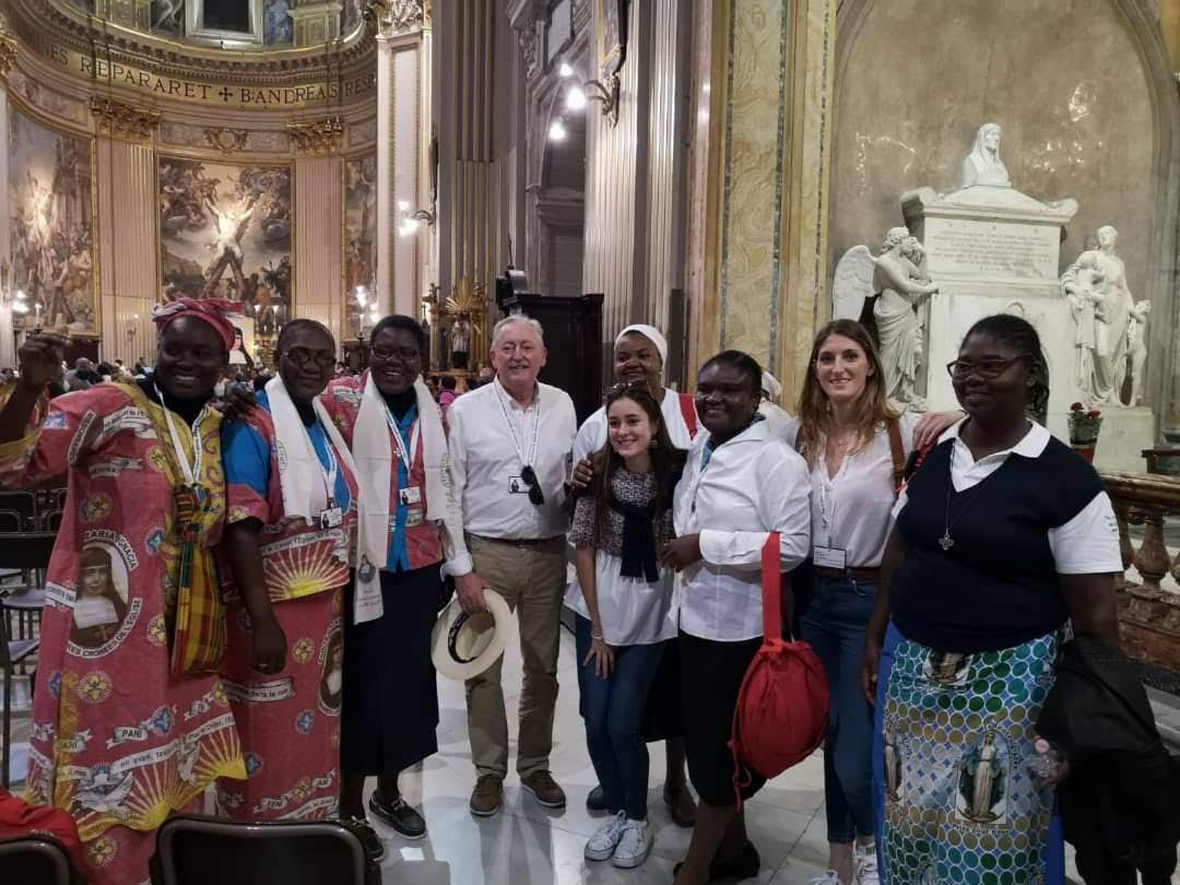 Santa Nazaria - Hermanas Misioneras de la Iglesia - Papa Francisco I - Roma - CMU Mara - Colegio Mayor Mara