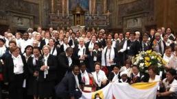 Santa Nazaria - Canonización de Santa Nazaria - Hermanas Misioneras de la Iglesia - Papa Francisco I - Roma - CMU Mara - Colegio Mayor Mara