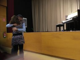 Concierto para piano de Borja R Niso en el Colegio Mayor Mara en tributo a Ludovico Einaudi - Actos de celebración de la canonización de Santa Nazaria en Roma a manos del Papa Francisco I