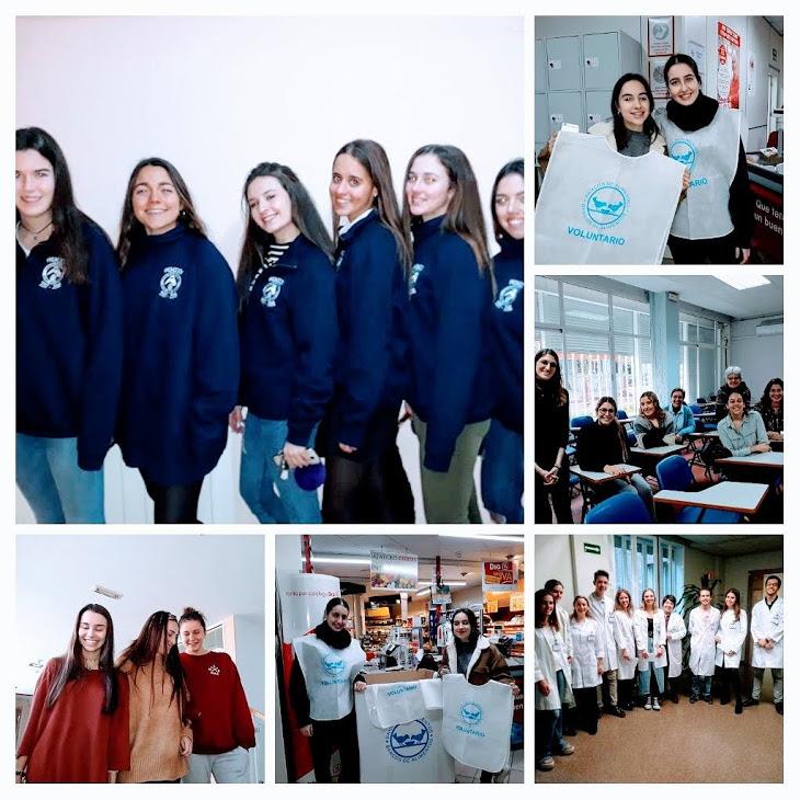 Día del voluntariado - Colegio Mayor Mara - Voluntarias - Voluntariado Universitario Conjunto en colegios mayores - CMU Mara - Colegios Mayores