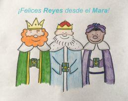 Felices Reyes desde el mara - Reyes Magos - Colegio Mayor Mara