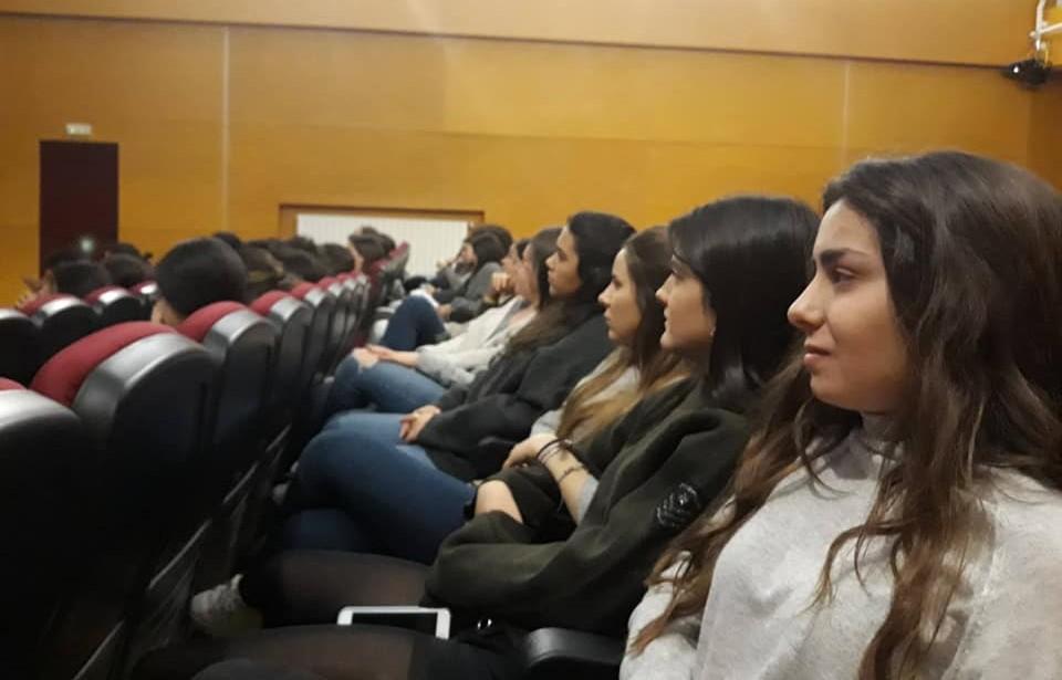 """El lunes nos visitó Silvia Martínez Cano, de la mano del grupo de Fe y Vida. Conferencia""""Feminismo, ¿cuáles son tu preguntas?"""" - CMU Mara - Feminismo - Colegio Mayor Mara - Colegio Mayor en Madrid"""