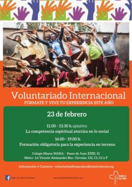 Voluntariado internacional en el Mara - Colegialas que partirán para Colombia y Camerún - CMU Mara