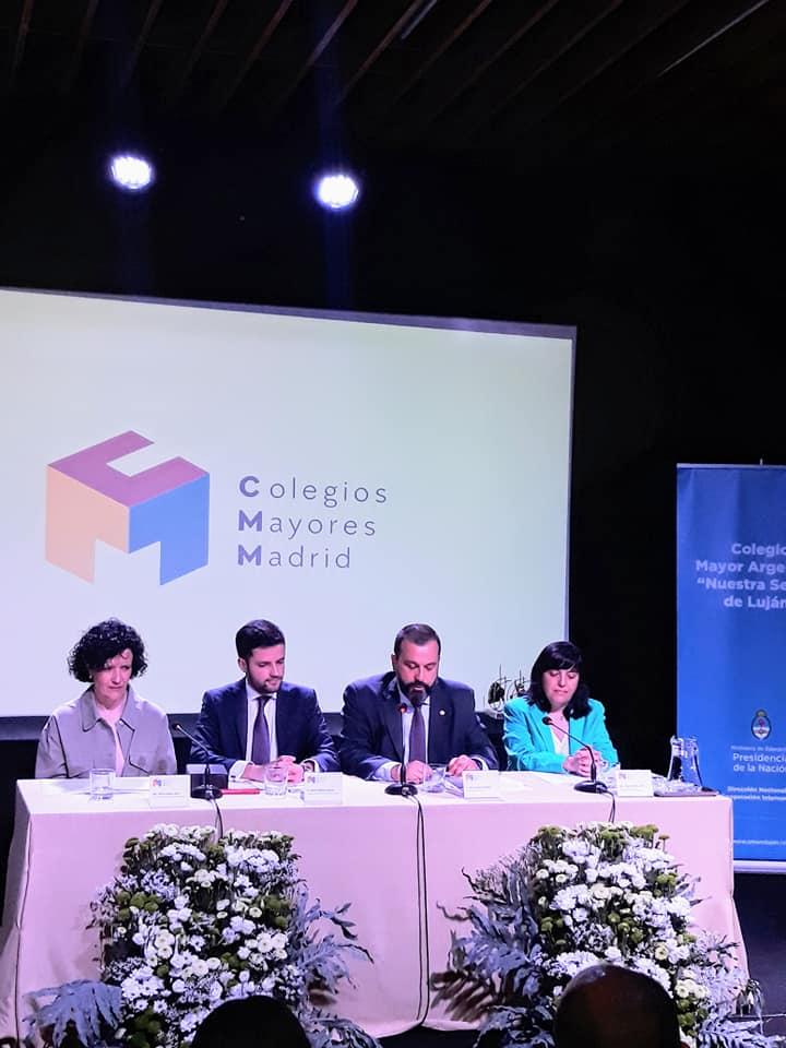 Tiempo, experiencias... y vida en un Colegio Mayor - Reconocimientos para las colegialas del Mara por parte de la Asociación de Colegios Mayores de Madrid - CMU Mara