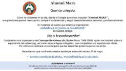 Alumni Mara organiza sesión sobre la importancia del Networking el 15 de junio con la colaboración de Concepción Gómez Liaño colegiala 1988-1993 - Colegio Mayor Mara