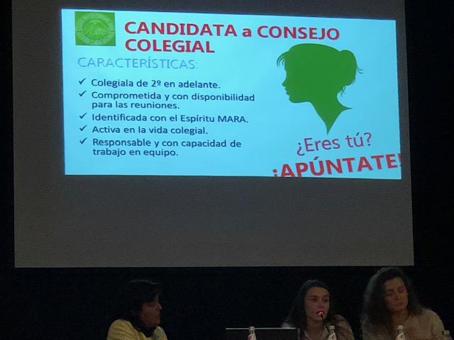 Celebración de la Asamblea Colegial en el Colegio Mayor Mara - También se eligió Consejo Colegial para el presente curso 2019-2020 - Tolerancia cero a las novatadas - Colegio Mayor en Madrid