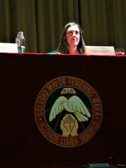 Inauguración del curso 2019-2020 con nuestro solemne Acto de Apertura del Colegio Mayor Mara. Misa de inicio de curso y conferencia de la Dra. Yasmina Martos, antigua colegiala, hoy en día científica en la NASA - CMU Mara - Colegio Mayor Mara - Colegio Mayor en Madrid - NASA