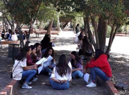 Convivencia de las colegialas del Colegio Mayor Mara en nuestra casa de espiritualidad en Cubas de la Sagra - Dando a entender la vida en el colegio mayor a las nuevas colegialas - Colegio Mayor en Madrid - CMU Mara