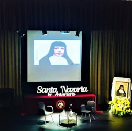 1er aniversario de la canonización de Santa Nazaria - Santa Nazaria - Colegio Mayor Mara - Misioneras Cruzadas de la Iglesia - CMU Mara
