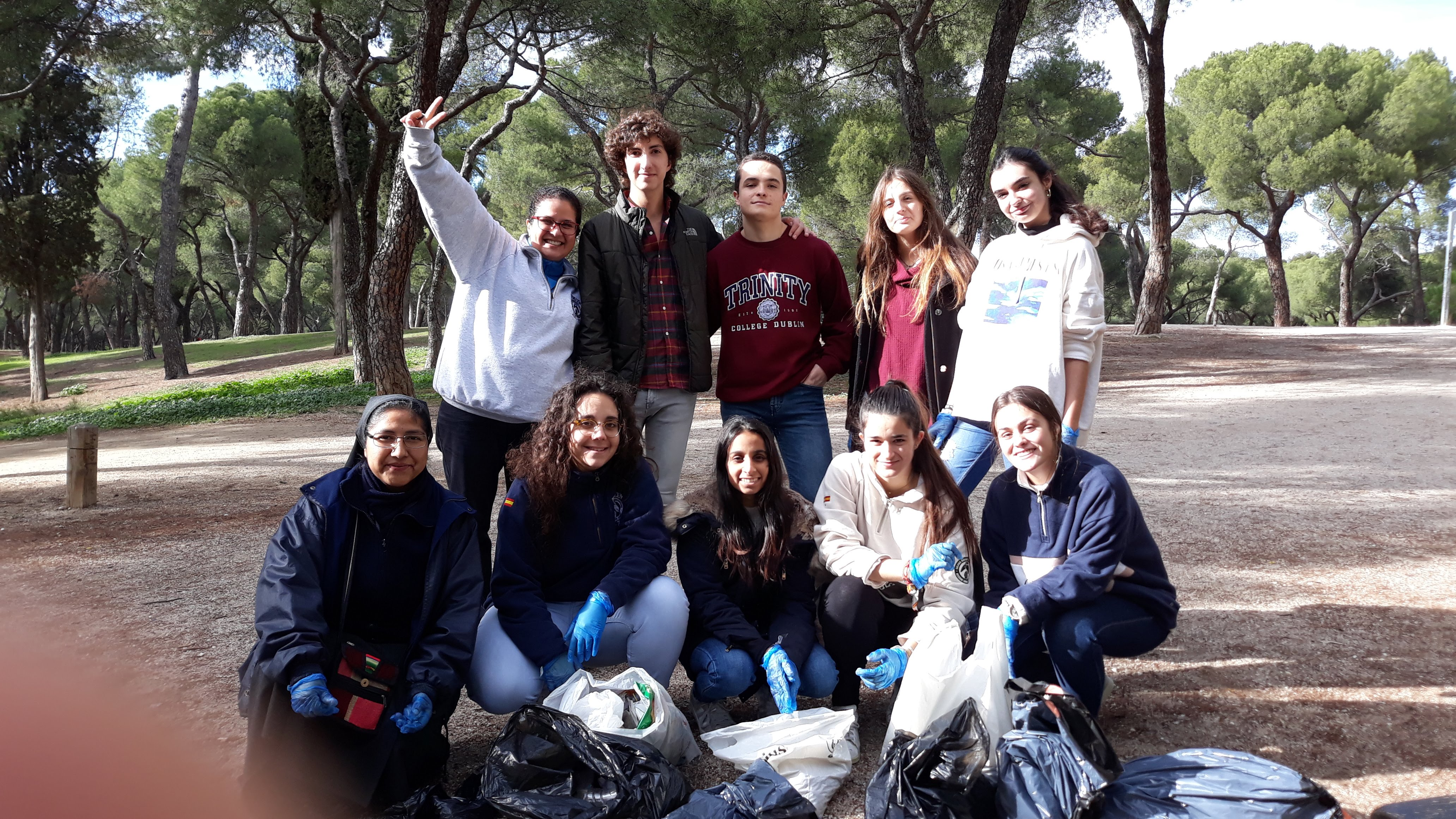 Aula de Derechos Humanos sobre el Cambio climático compartido entre el CMU Mara y el CMU Alcalá - Madrid - COP25 - El cambio está en manos de todos - Colegio Mayor en Madrid